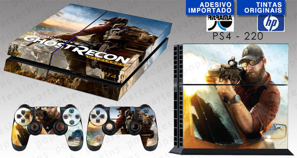 PS4 SKIN - Tom Clancy's Ghost Recon Wildlands