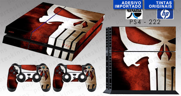 PS4 SKIN - The Punisher Justiceiro