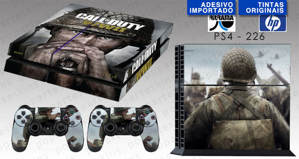 PS4 SKIN - Call of Duty WW2