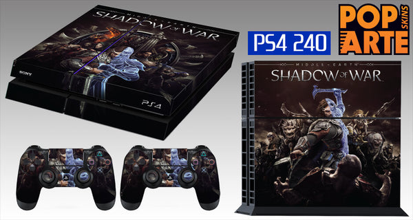 PS4 SKIN - Shadow of War