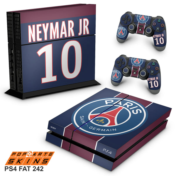 PS4 SKIN - Paris Saint Germain Neymar Jr PSG