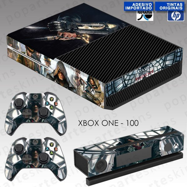 XBOX ONE SKIN - XBOX ONE SKIN - Assassin's Creed Syndicate - Pop Arte Skins Adesivos