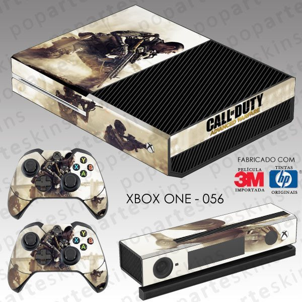 XBOX ONE SKIN - XBOX ONE SKIN - Call of Duty Advanced Warfare - Pop Arte Skins Adesivos
