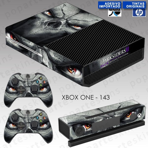 XBOX ONE SKIN - XBOX ONE SKIN - Darksiders 2 Deathinitive Edition - Pop Arte Skins Adesivos