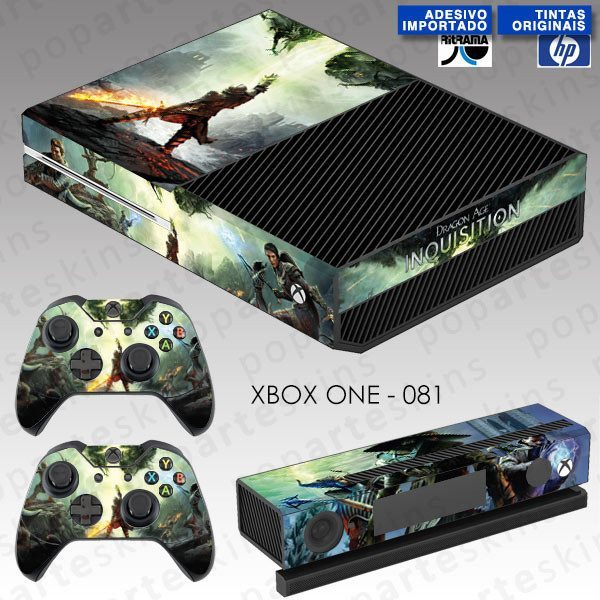 XBOX ONE SKIN - XBOX ONE SKIN - Dragon Age Inquisition - Pop Arte Skins Adesivos