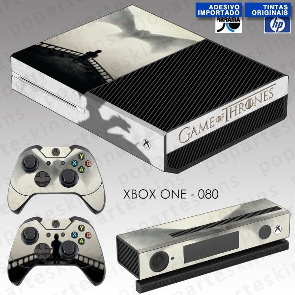 XBOX ONE SKIN - XBOX ONE SKIN - Game of Thrones - Pop Arte Skins Adesivos