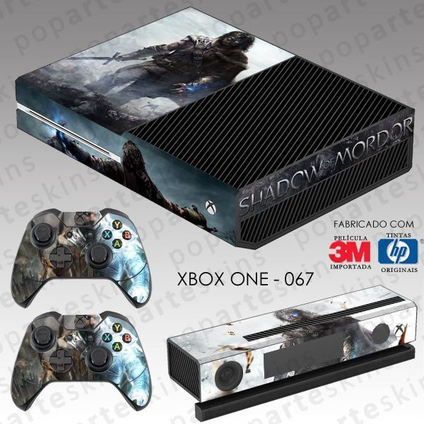 XBOX ONE SKIN - XBOX ONE SKIN - Middle Earth: Shadow of Murdor - Pop Arte Skins Adesivos