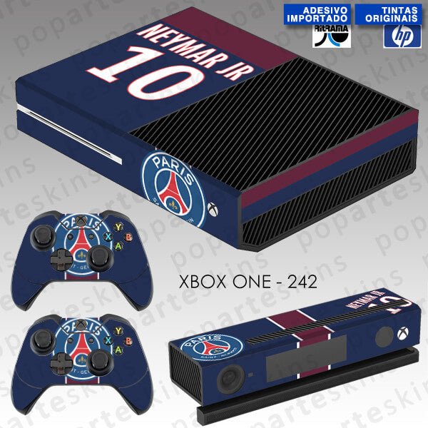 XBOX ONE SKIN - Paris Saint Germain Neymar Jr PSG