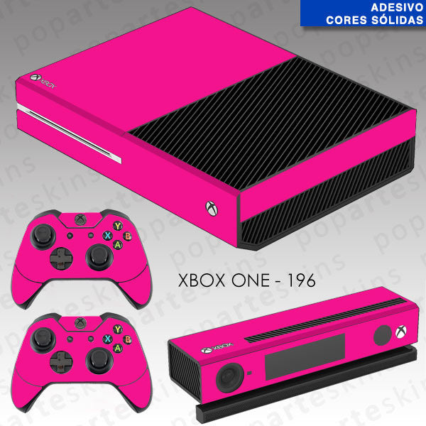 XBOX ONE SKIN - Cores Sólidas Rosa Pink