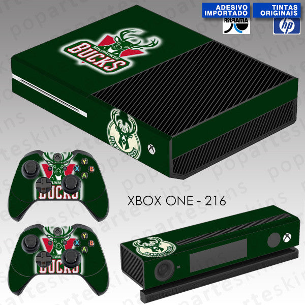 XBOX ONE SKIN - Milwaukee Bucks - NBA