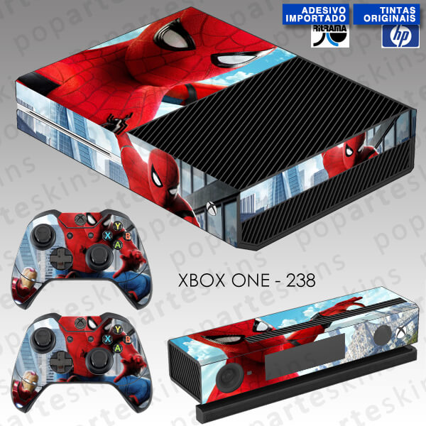 XBOX ONE SKIN - Homem Aranha - spiderman homecoming