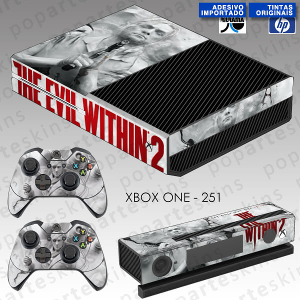 XBOX ONE SKIN - THE EVIL WITHIN 2