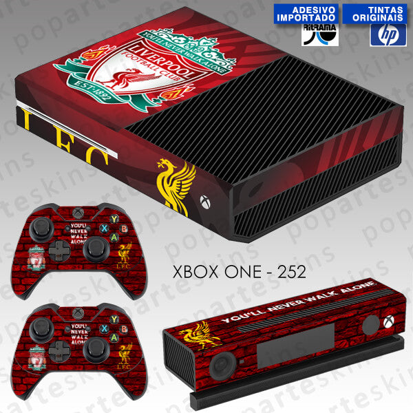 XBOX ONE SKIN - Liverpool Football Club
