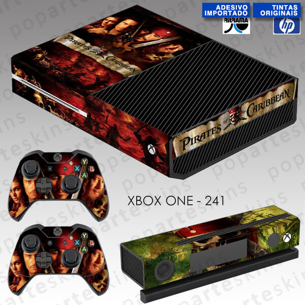 XBOX ONE SKIN - Piratas do Caribe