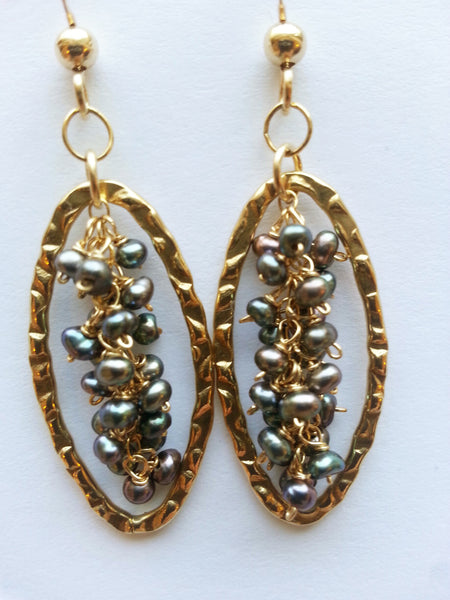 Signature Freshwater Pearl Earrings