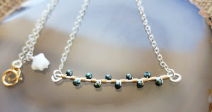 Leila Freshwater Pearl Branch Necklace