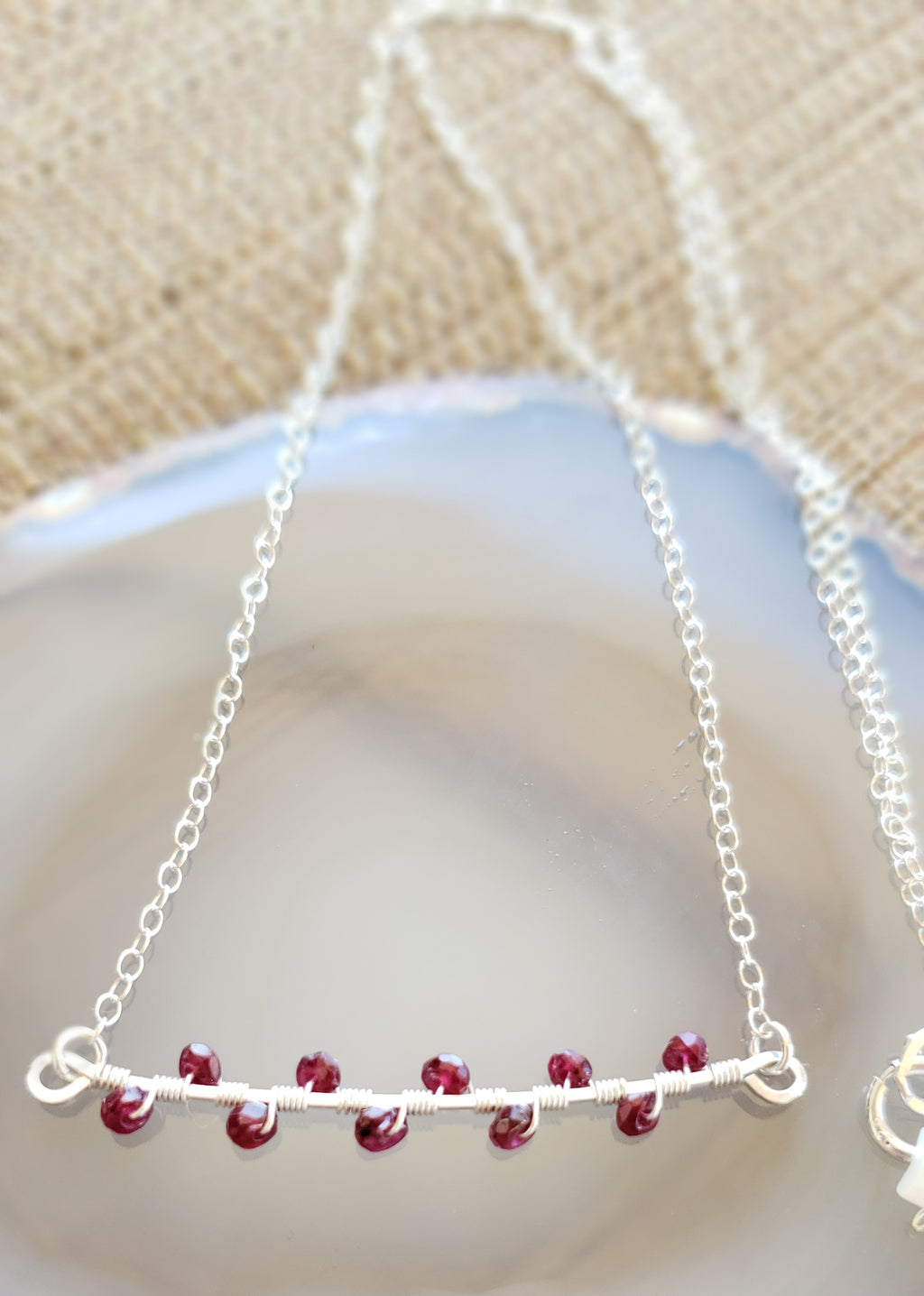 Leila Sterling Ruby Necklace