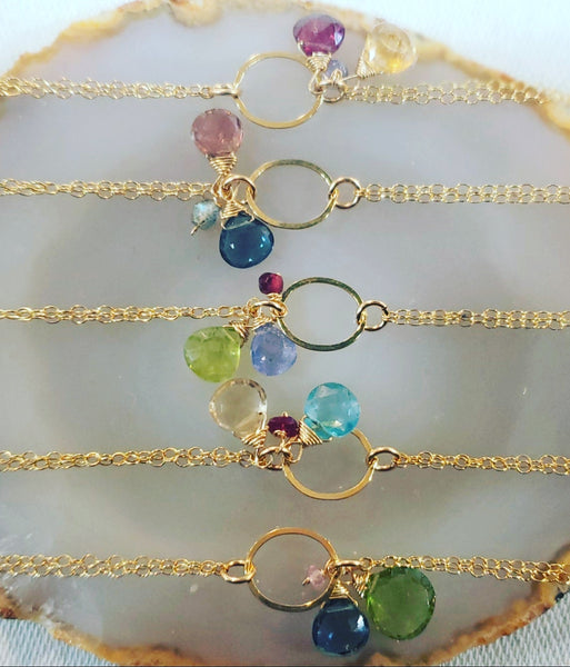 Multi Gemstone Bracelets