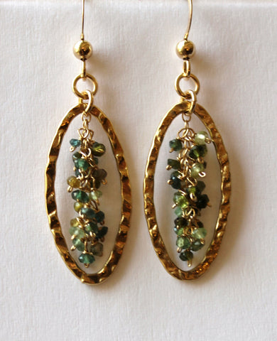 Signature Green Tourmaline Earrings