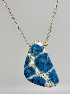 K2 Jasper Pendant Necklace