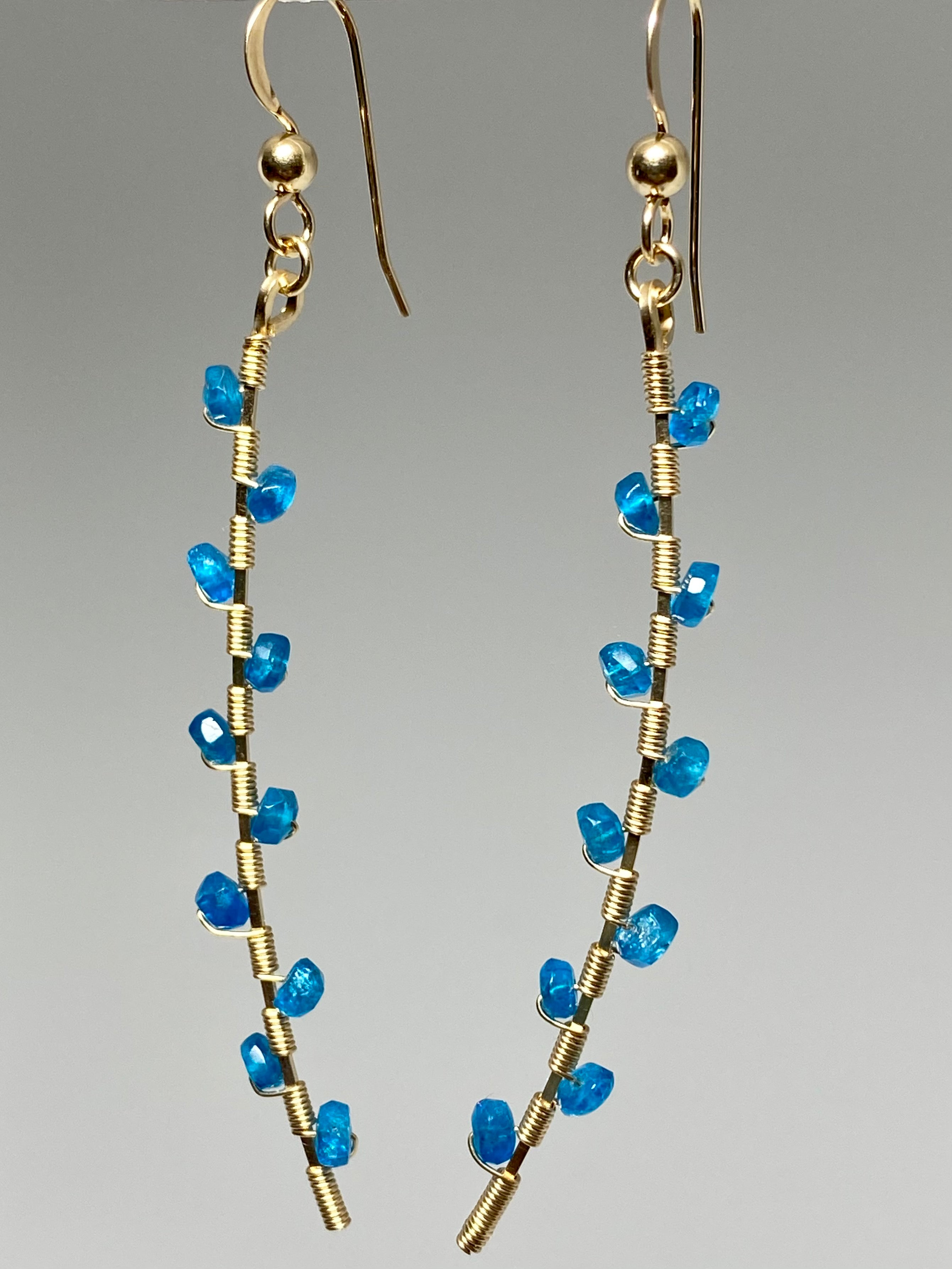 Leila Apatite Earrings