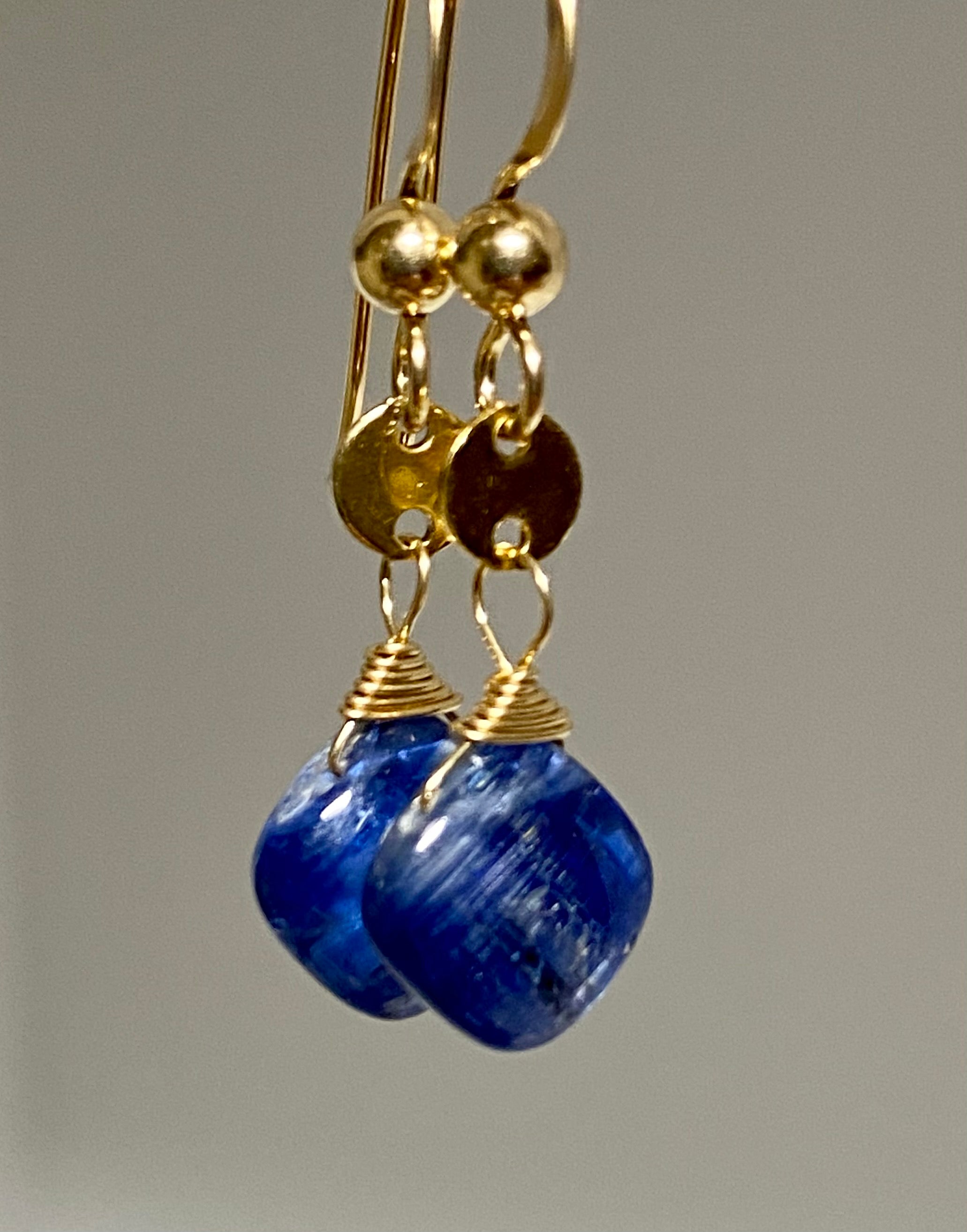 Pair of Petit Kyanite Earrings