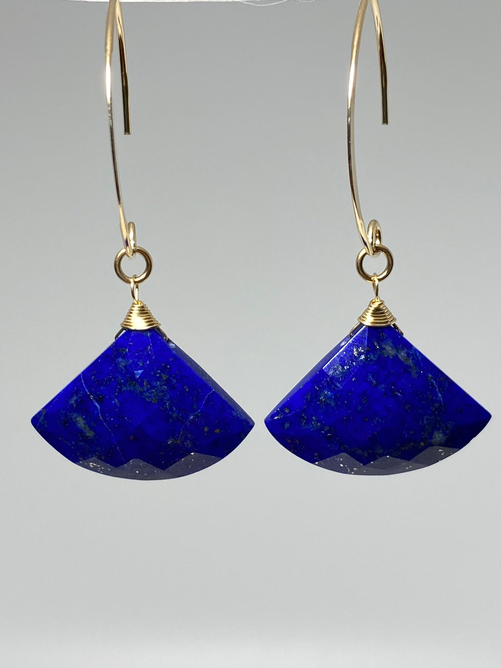 Pair of Lapis Earrings