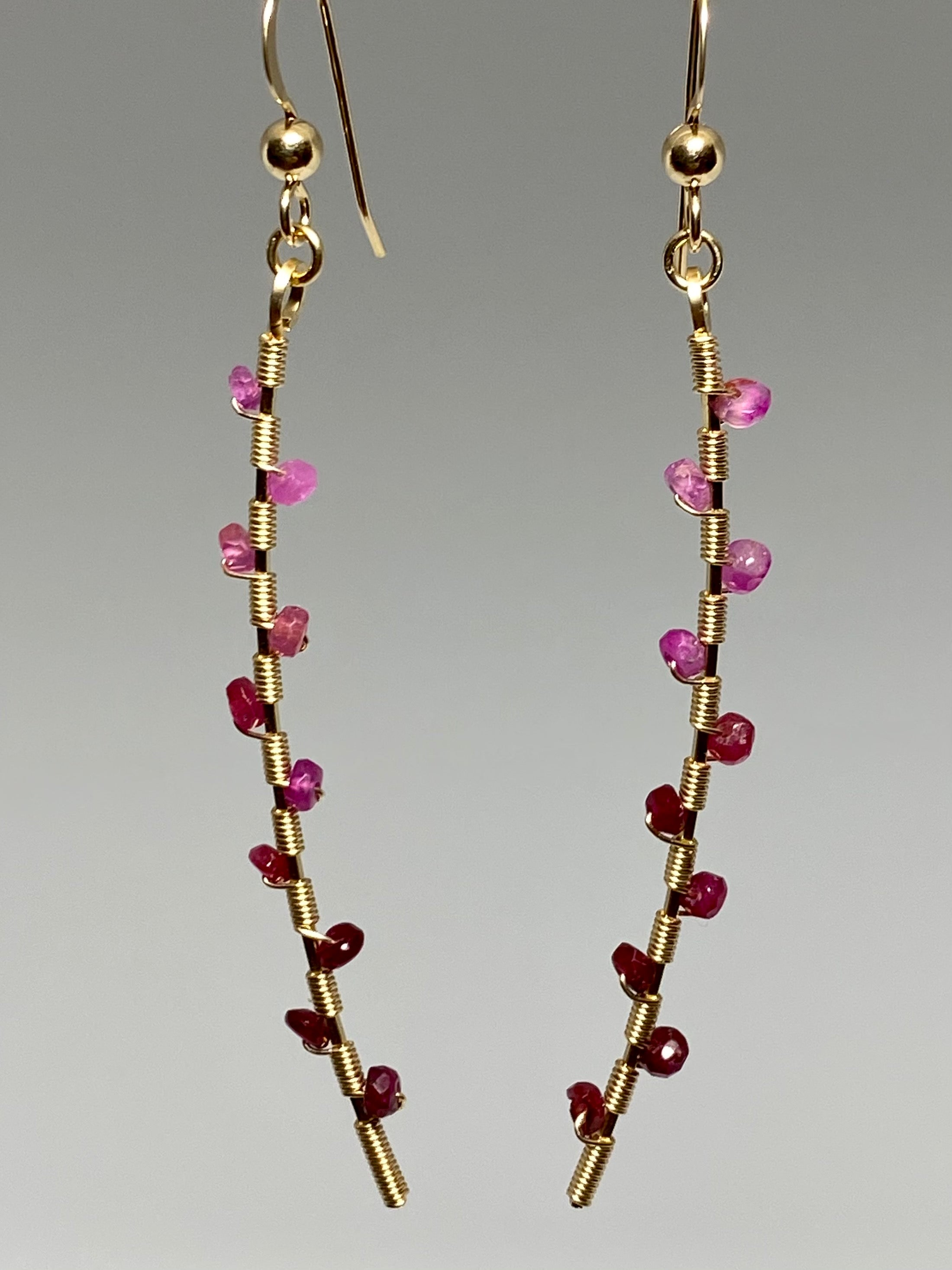 Leila Ruby Earrings