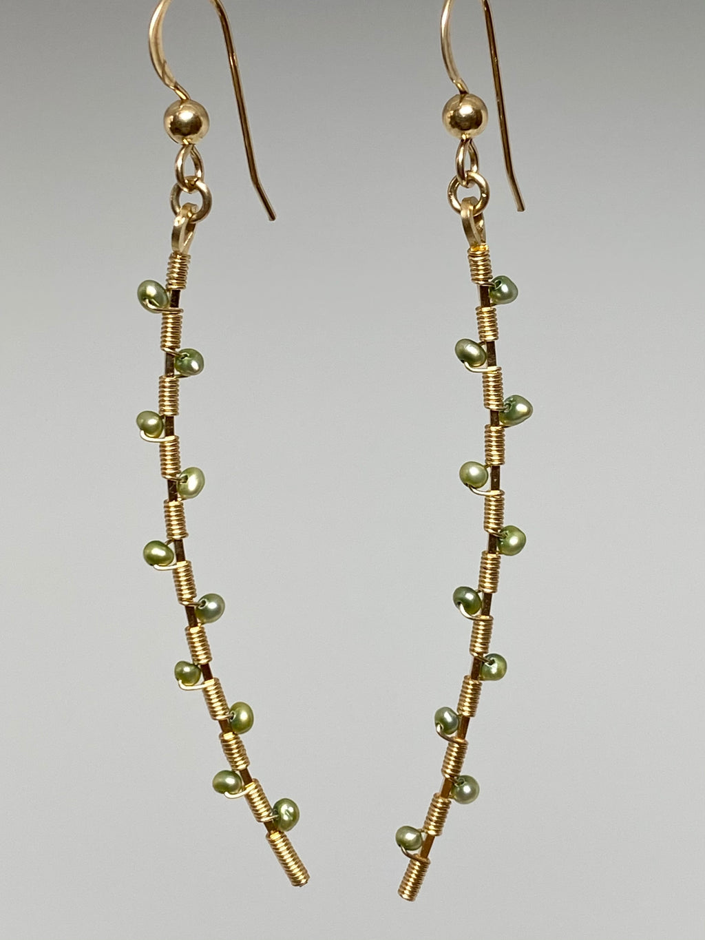 Leila Green Freshwater Pearl Earrings