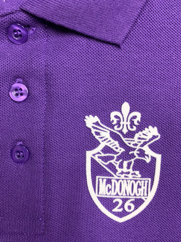 McDonogh 26 Elementary Purple Polo