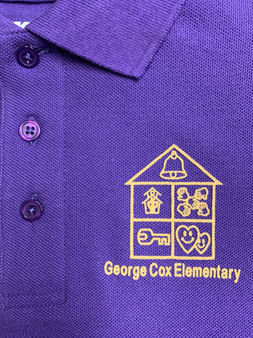 George Cox Purple Polo