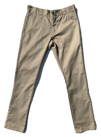 Mens Khaki Skinny Fit Pants
