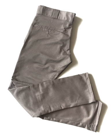 Boys Silver/Grey Skinny Fit Pants