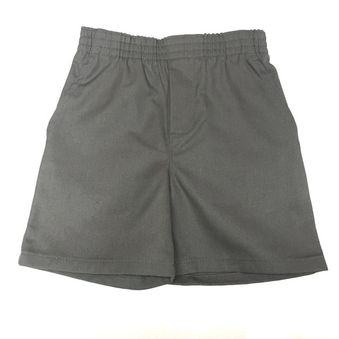 St. Rosalie Boys Grey Pull On Shorts