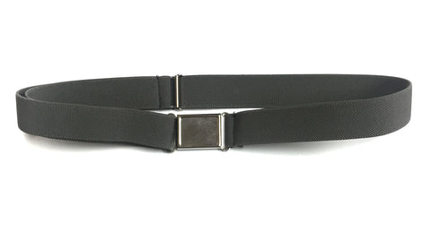St. Rosalie Boys Grey Magnet Buckle Belt