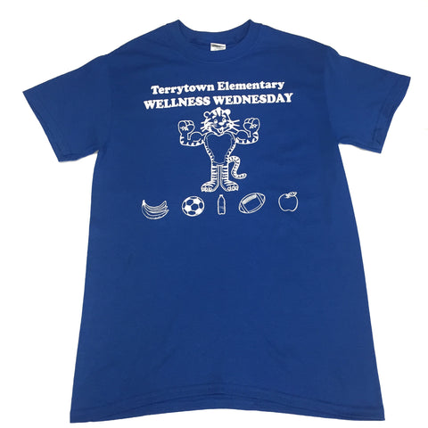 Terrytown Elementary Wellness Wednesday Shirt
