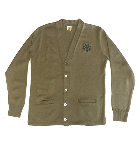 JPCC Khaki Cardigan Sweater