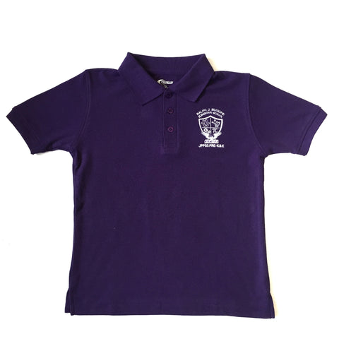 Bunche Elementary Purple Polo