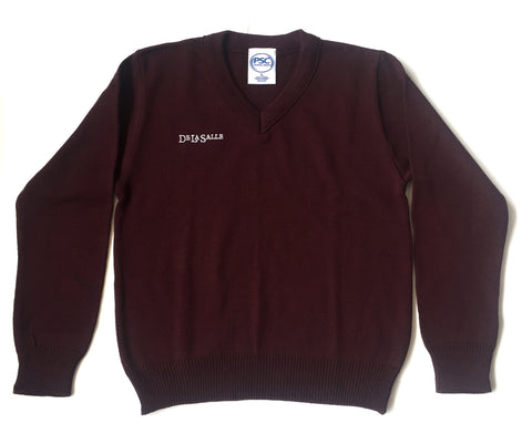 De La Salle V-Neck Sweater