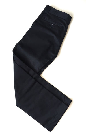 Boys Navy Tapered Leg Pants