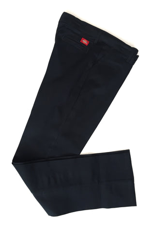 Girls Navy Slim Fit Pants