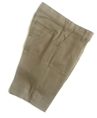 Girls Khaki Bermuda Shorts