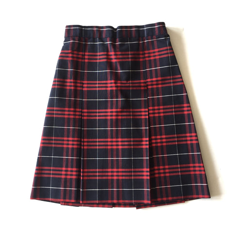 Benjamin Franklin Plaid Skirt