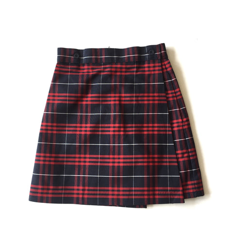 Benjamin Franklin Plaid Skort