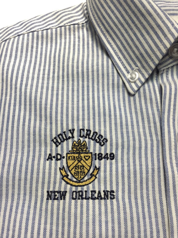 Holy Cross Oxford Shirt - Short Sleeve