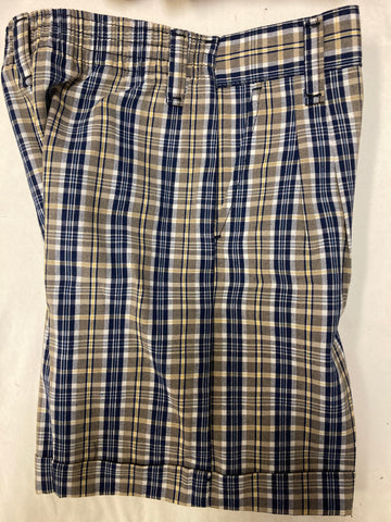 ICS Plaid Shorts