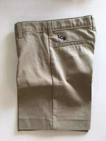 ICS Boys Khaki Shorts