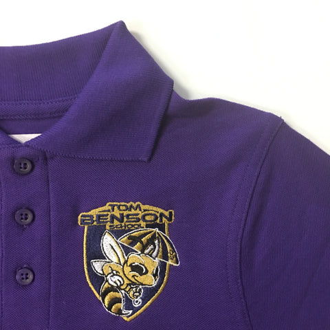 Tom Benson Purple Polo