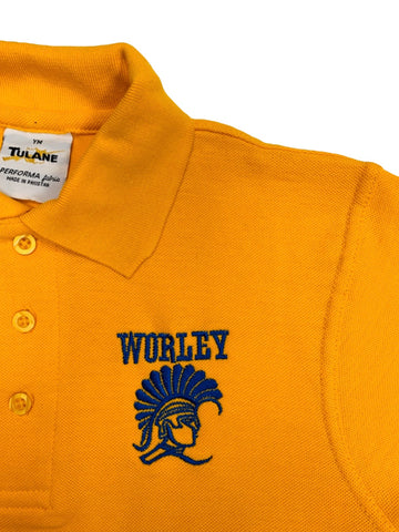 Stella Worley Middle Gold Polo
