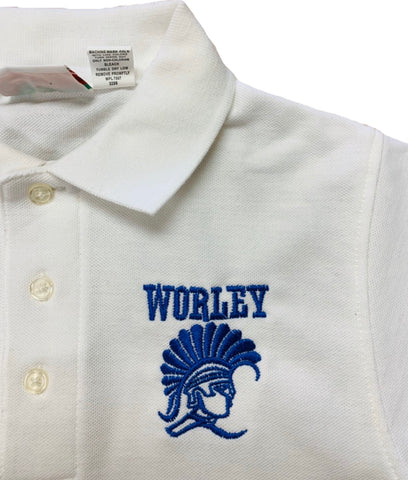 Stella Worley Middle White Polo